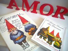 Livros Gnomos e O Livro Secreto dos Gnomos: http://www.anjosnet.com.br/gnomos-de-rien-poortvliet/ #gnomes #gnomos #books #livros