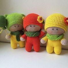 Amigurumi Little Boys-Free Pattern (Amigurumi Free Patterns)