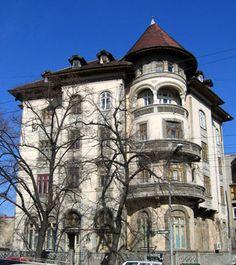 6_popasoare_neoromanian My Town, Bucharest, Case, Romania, Design Elements, Minimalism, Garden Ideas, Real Estate, Construction