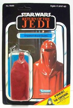 #StarWars - Return Of The Jedi : Emperor's Royal Guard #ActionFigures