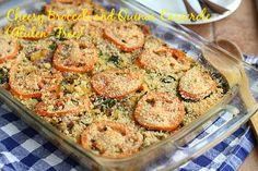Cheesy Broccoli and Quinoa Casserole (Gluten-Free)/cc