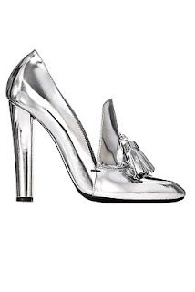 341c492503c9 wang silver loafer pump High Heel Loafers