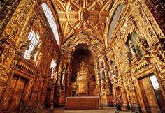 Igreja de Santa Clara. O Barroco em todo o seu esplendor.