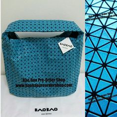 "Bao Bao Market Bag in ""glittering"" Sky Blue. Very multi-functional & Roomy. Suitable for all casual occasions, such as for going to gym, as a mother bag, for a day trip, etc...  Size: H36xW32xD14(cm) Ship from Japan ✿To Order, please message/email below✿ ♥️FB Inbox:  https://www.facebook.com/messages/baobaohandbags ♥️Email:  welovebaobao@gmail.com ✿Visit Us✿ www.baobaopreordershop.com"