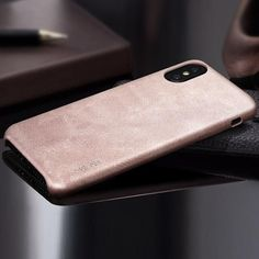 Vintage Style Leather Phone Case For Apple iPhone X