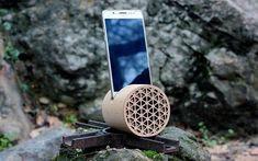 Wood stand wooden stand wooden phone amplifier docking station docking station for men phone stand phone stand wood iPhone stand Wood Phone Stand, Phone Stand For Desk, Iphone Stand, Iphone Holder, Iphone Phone, Desk Gifts, Office Gifts, Gifts For Husband, Gifts For Him