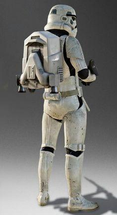 Jetpack-equipped Stormtrooper