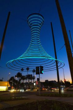 Empyrean Passage public art in West Hollywood.