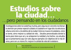ciudad sostenible: +S Tendencias _ Estudios sobre la ciudad, pero pensando en los ciudadanos