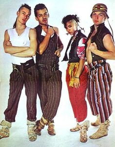 Yep, that's Annabella Lwin from the post punk band Bow Wow Wow . Bow Wow Wow was formed by Malcolm McLaren from th.