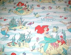 Little Mermaid Sheets - I actually had these as a kid.