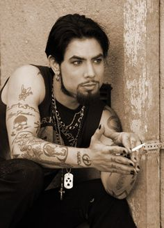 Chris nunez bad boy tattoo artist mmm wow for Dave navarro tattoo work