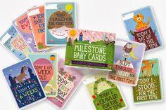 Miss Patroonella likes milestone baby cards!