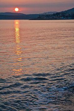 Sunset - Alghero Beach, Sardinia, Italy