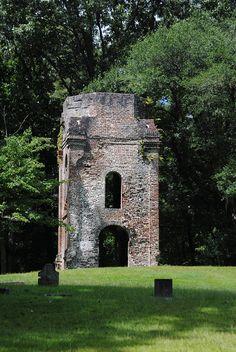 Ruins of Old Fort Dorchester, Summerville, SC