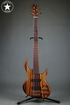 Tobias Classic 5 Walnut Zebrano 2011 For Sale | angeldust-guitars.com