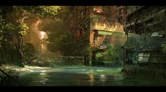 Crysis 3 - River concept art » PlayStation LifeStyle