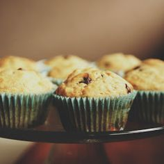 The Things We Would Blog: Banana Chocolate Chip Muffins