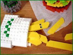 Funny: Lego Cheeseburger