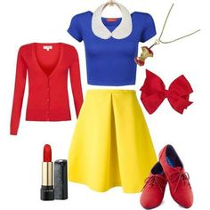 Easy snow white costume