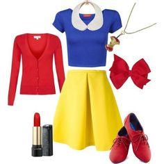 Easy snow white costume