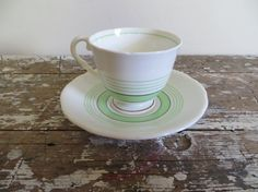 Vintage Tea Cup and Saucer Royal Stafford by VintageShoppingSpree, $30.00