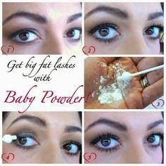 Bigger lashes tip