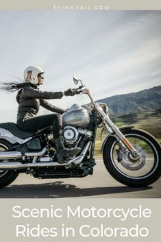 7 AWESOME Motorcycle Rides near Vail, Colorado. Get out and explore today! Gothic Chokers, Gothic Jewelry, Black Necklace, Leather Necklace, Cyberpunk Clothes, Twin Lakes, Witch Jewelry, Sand And Water, Layered Jewelry