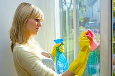 Learn 4 easy and quick tips to clean mirrors and windows.