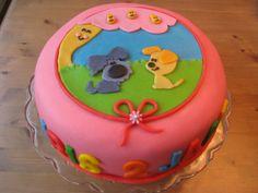 Een Woezel en Pip taart, met Mevrouw Perenboom!