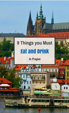 Don't miss these things to drink and eat in Prague (some may surprise you)