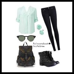 I love this mint-green colour!!