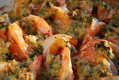 Baked shrimp scampi....truly amazing!  My husband agrees...the best meal I've ever made!