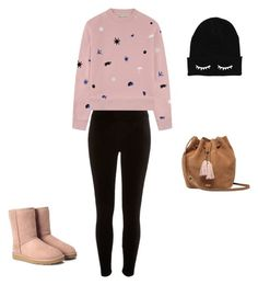 """""""Ugg"""" by swinterb ❤ liked on Polyvore featuring River Island, Être Cécile and UGG"""