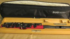 ***EXCLUSIVE MODEL*** GUO New Voice Piccolo in C  RED with Grenaditte headjoint #GUONewVoicePiccolo