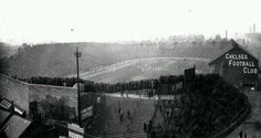 Stamford Bridge (estadio del Chelsea) en 1950.