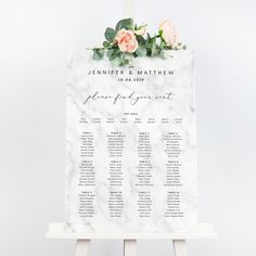 Monochrome Marble Table Plan Monochrome marble personalised wedding seating chart by Project Pretty Wedding Welcome Table, Wedding Table, Wedding Ceremony, Seating Chart Wedding, Seating Charts, Monochrome Weddings, Pink Marble, Gold Texture, Table Plans