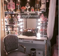 ✨Chanel inspired beauty room✨