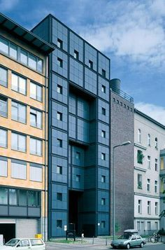 Max Dudler Architekt - BEWAG Umspannwerk Berlin