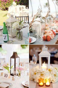 Lantern #Wedding Table Centerpieces