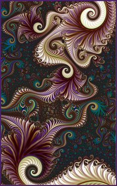 last in the trilogy Phoenix III Fractal Images, Fractal Art, Psychedelic Pattern, Batik Art, Illusion Art, Hippie Art, Geometric Art, Beautiful Artwork, Cool Art