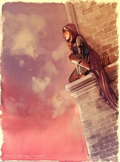Celaena by nathalie-braconnot on Tumblr