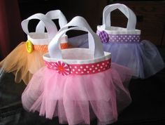 Mini Tutu Bag Party Pack in Custom Colors on Etsy, $38.00