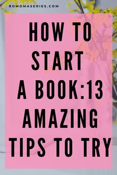 Do you have a idea, but don't know how to start your book? Then this will get you started right away. Book Writing Tips, Start Writing, Writing Prompts, Creative Words, Creative Writing, Starting A Book, Silver Spring, Self Publishing, Blog Tips