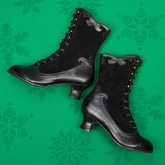 Turn heads this holiday with Miss L Fire's Victoriana Boot!