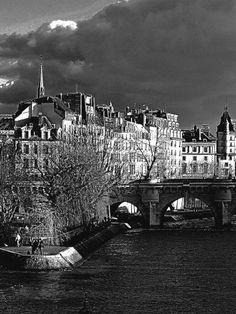 Le square du Vert-Galant et l'Île de la Cité ... Square du Vert-Galant (1er arrondissement)