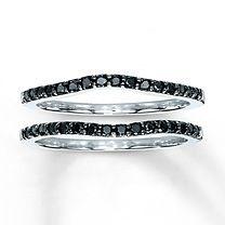 Diamond Wedding Bands 1/3 ct tw Round-Cut 14K White Gold $880