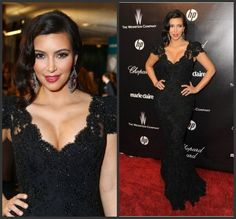#replicas #tbt #black #lace #dress #celebrity #fashion #beauty #glamour #style - Beaded black lace evening gowns from the red carpet can be recreated for you at a great price.  These celebrity #eveningdresses can be couture and costly.  But our USA based company can make a replica of any dress in a picture for less than the original. Get pricing on custom #dresses and replicas at http://www.dariuscordell.com/product-category/evening-dresses/