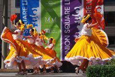 Ballet Folklorico Mexicano de Carlos Moreno at Union Square San Francisco, CA #Kids #Events