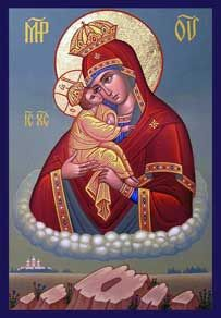 Our Lady Theotokos Pochov